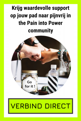 Pain into Power community