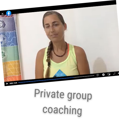 Private group coaching