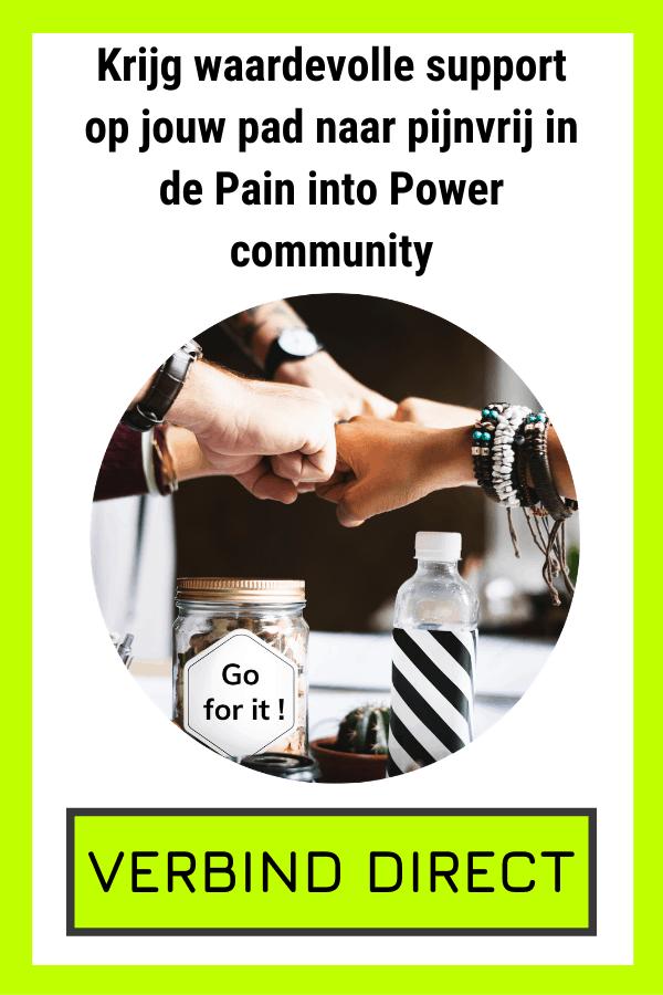 chronische pijn community word pijnvrij